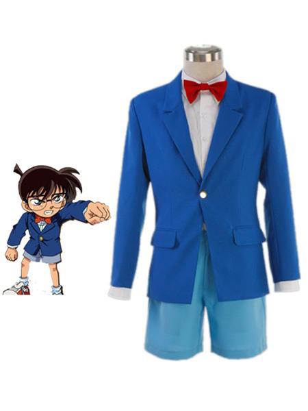 Milanoo coupon: Detective Conan Case Closed Conan Edogawa Halloween Cosplay Costume School Uniform