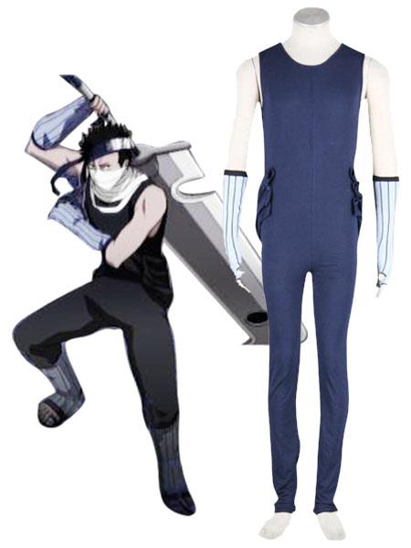 Naruto Zabuza Cosplay Costume 65 Percent Cotton 35 Percent Polyester