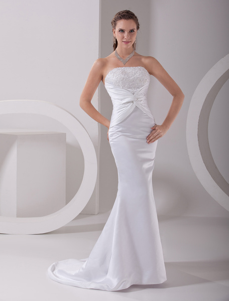 Milanoo coupon: Sexy Mermaid Wedding Dress with Beading