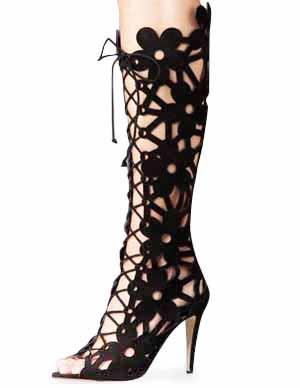 Milanoo coupon: Black Sheepskin Suede Shoes