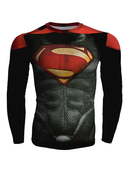Super Man Long Sleeves T Shirt For Men