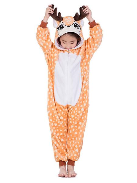 Image of Carnevale Pigiama Cosplay per bambini 2021 Tute Kigurumi Pigiama maniche corte in flanella Costume Halloween