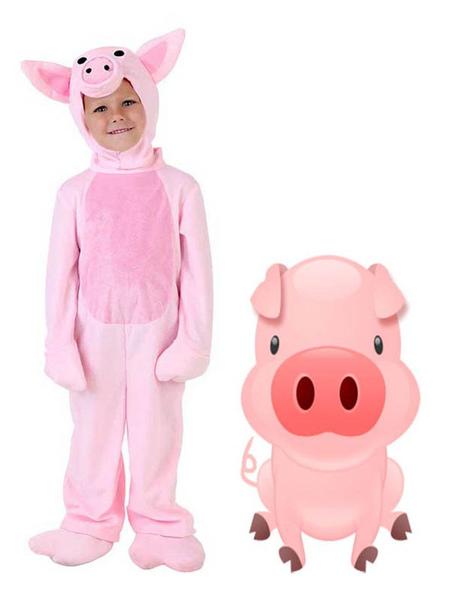 Image of Carnevale Pigiama per bambini Kigurumi Tutina Pigiama per bambini Pinky Pig Pigiama Costume Halloween