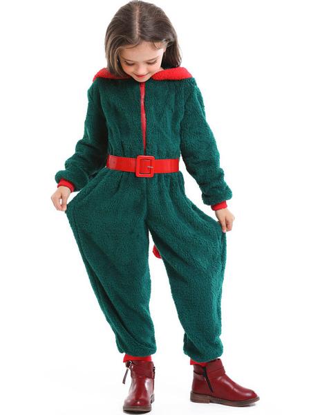 Image of Carnevale Tuta per bambini in pigiama di corallo di Natale con pigiama Kigurumi Halloween