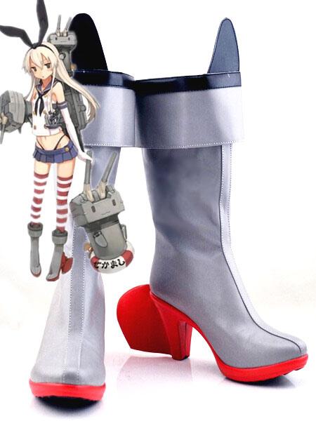 Kantai Collection Kancolle Shimakaze Halloween Cosplay Shoes