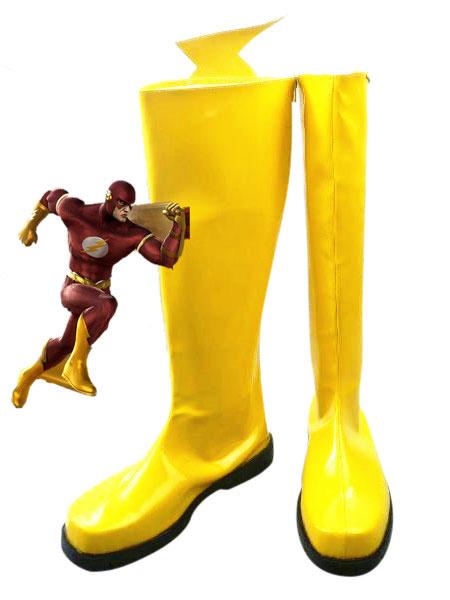 The Flash Arry Allen Halloween Cosplay Shoes