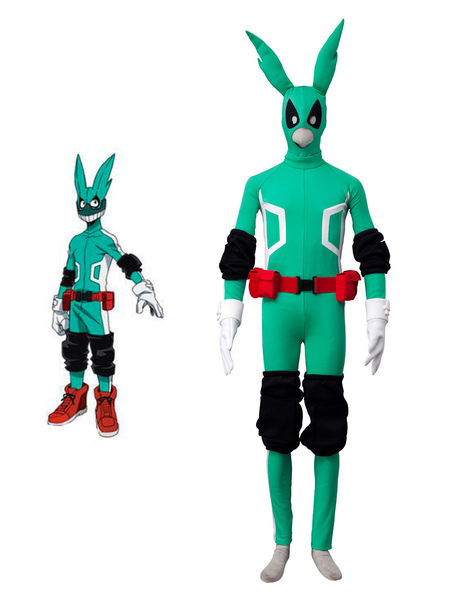 Deku Cosplay Boku No Hero Academia Izuku Midoriya Cos BNHA 7 Pieces...