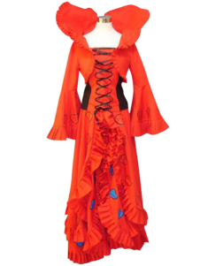 Heart no Kuni no Alice Wonderful Wonder World Queen Cosplay Costume