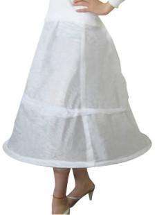 Elegant White Wedding Bridal Hoop Petticoat