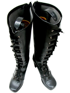 Black Queen Cosplay Imitated Leather Boots