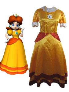 Super Mario Bros Daisy Cosplay Costume