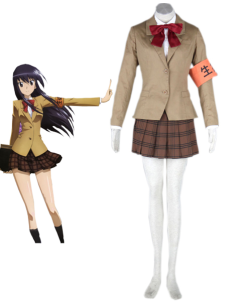 Seitokai Yakuin Domo Winter School Uniform 65 Cotton 35 Polyester Cosplay Costume