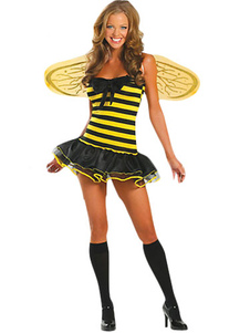 Yellow And Black Bee Sexy Costume