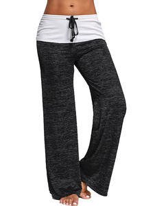 Image of Pantaloni della tuta da donna Pantaloni da ginnastica in cotone