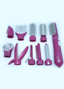 10 Attachment Allinone Hot Air Hair Brush Styler Dryer
