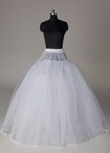 Great White Full Gown Slip Wedding Petticoat for Bride