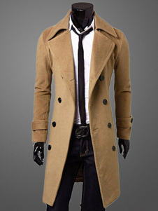 Long Coat With Front Buttons