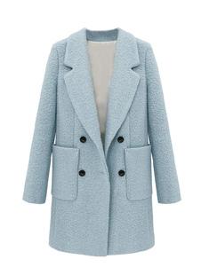 Long Sleeve Long Biyfriend Pea Coat