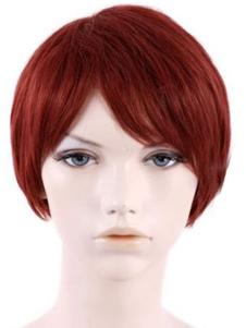 Straight Short Halloween wig