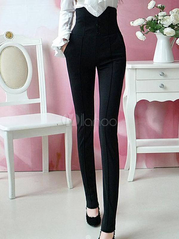 Pantanones De Vestir Mujer Talle Alto