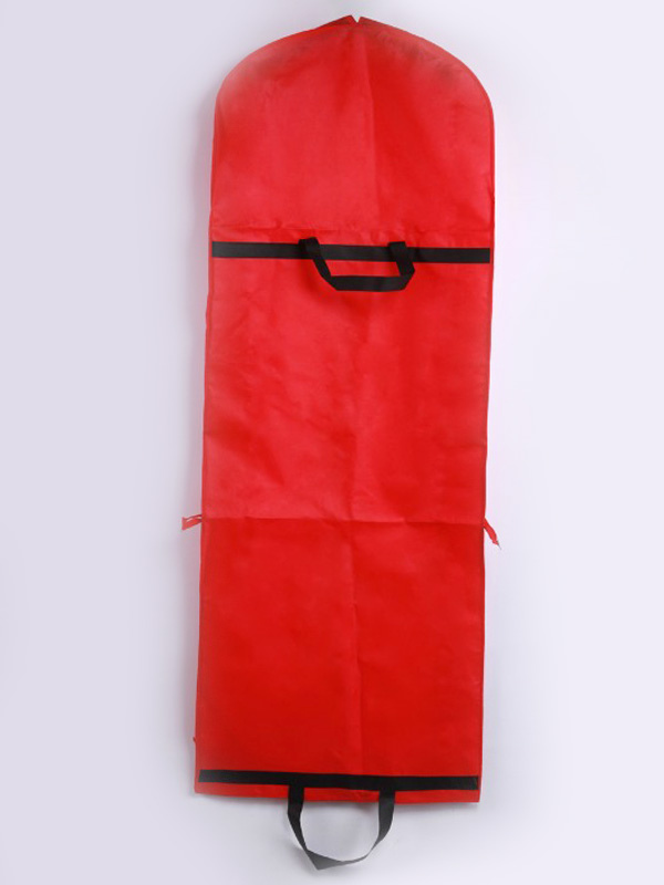 cool red wedding garment bags